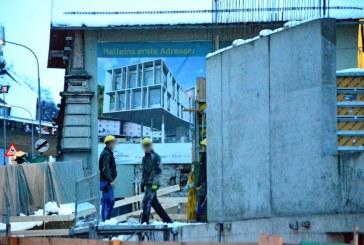 29.01.2015 18.30 Uhr Bauarbeiter stürzt 7 m ab  / AT Hallein