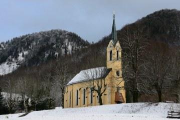 Wetterbilder Schnee nach Sonnenschein / AT Salzburg