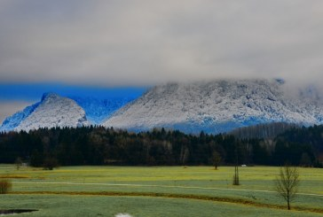 Am Berg Schnee – im Tal Grün / AT Salzburg