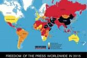 Pressefreiheit 2015 / Welt