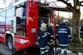 Jäger Hochstand fängt Feuer  / AT Salzburg