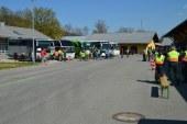22 Reisebusse beanstandet / DE Traunstein
