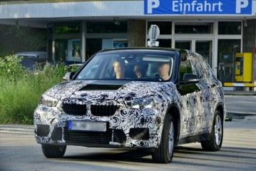 BMW Erlkönig in der Stadt / AT Salzburg