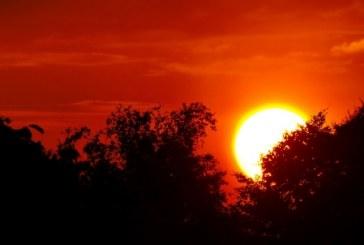Sonnenuntergang in Thalgau / AT