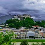 Wetterbilder vom Kapuzinerberg / At Salzburg