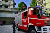 erneuter Trafobrand in Wohnsiedlung / AT Salzburg