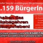 Ergebnis des EU-Austritt-Volksbegehrens steht fest / AT