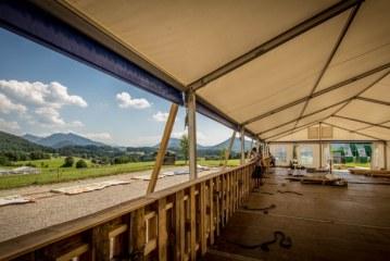 Aufbauarbeiten für Electric Love in vollem Gange / AT Salzburg
