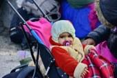 Flüchtlingskinder hoffen auf eine sichere Zukunft / Slowenien Sentilj