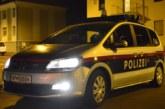 10.02.2020 AT Salzburg: Auto als Rammbock für Geschäftsraum