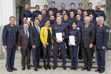 23 neue Kräfte für die steirische Polizei / AT Graz
