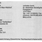 Mayr-Melnhof verklagt VGT / AT Wien
