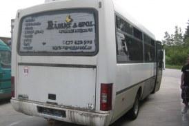Desolater Reisebus aus dem Verkehr gezogen / AT Gmünd