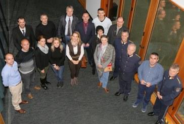 Polizei-Delegation aus dem Kosovo / AT Vordernberg