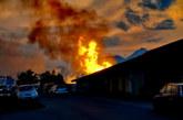 Sonnwendfeuer in Loig