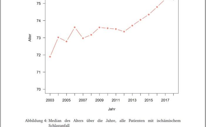04.01.2019 AT: Schlaganfall – Qualitätsstandard Integrierte Versorgung Schlaganfall