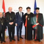 07.01.2019 AT Wien: Syrisch-orthodoxe Kirche dankt Bundeskanzler Sebastian Kurz
