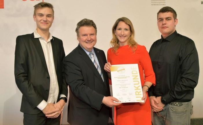 29.01.2019 AT Wien: Henkel ist TOP-Lehrbetrieb