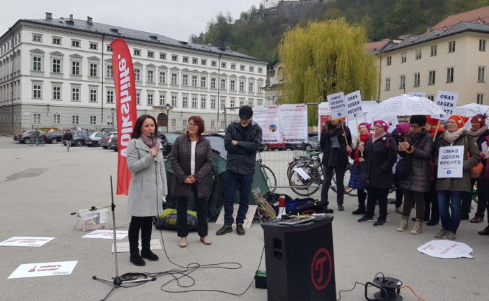 14.04.2019 AT Salzburg: Demo gegen Sozialabbau
