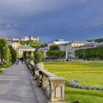 09.05.2019 AT Salzburg: Hauptstadt Stadt bei Regen