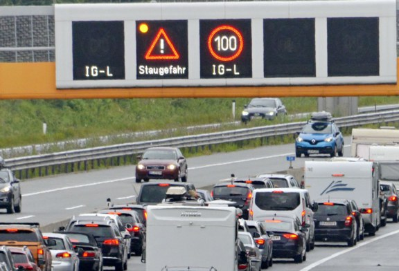 13.07.2019 Salzburg Autobahn A 10 – Stau