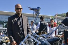 """29.09.2019  AT Salzburg: """"Distinguished Gentleman's Ride"""" (DGR) und Bikers-World"""