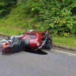 16.09.2019 AT Unterburgau: schwerer Motorradunfall