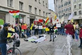 19.10.2019 AT Salzburg: Erneute Demonstration – Solidarität mit Rojava
