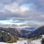 09.11.2019 AT Salzburg: der erste Schnee