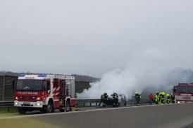 31.10.2019 AT OÖ: 2 schwere zeitgleiche Vorkommnisse auf der Autobahn A1 Richtung Wien
