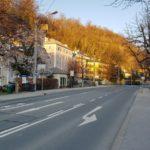 16.03.2020 AT Salzburg: Salzburger ziehen sich aufgrund des Corona-Virus zurück.