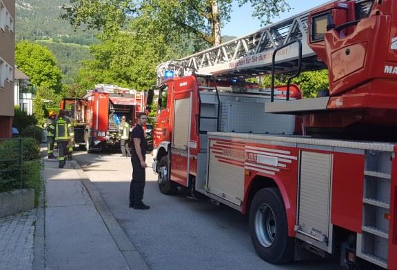 18.06.2020 AT Salzburg: Wohnungsbrand