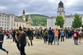 06.06.2020 AT Salzburg: 4000 Personen bei #Blacklivesmatter-Demo