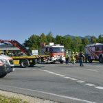 27.07.2020 AT Thalgau: schwerer Motorradunfall
