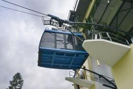 15.08.2020 AT Grödig: Untersberg-Seilbahn nimmt wieder Betrieb auf.