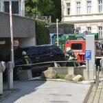 15.08.2020 AT Salzburg: Gasaustritt bei Auto in Tiefgarage
