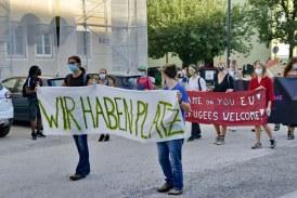 13.09.2020 AT Salzburg: Demo Solidarität mit Morina