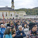 """18.10.2020 AT Salzburg: Demo """"Das Ende der PanikDemie"""""""