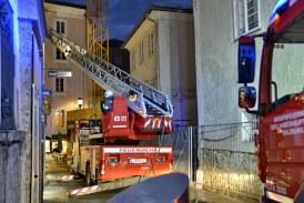 30.10.2020 AT Salzburg: Brand in der Altstadt