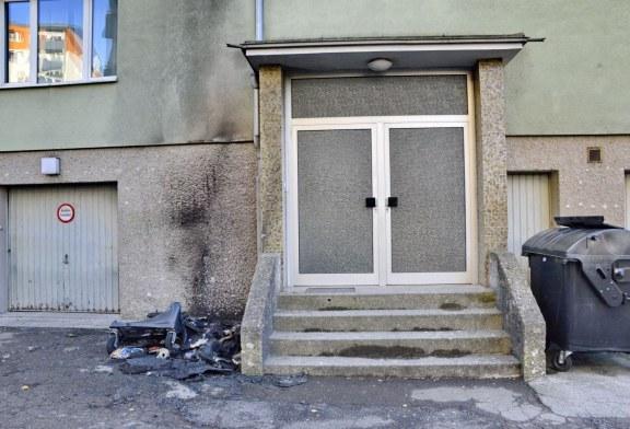 22.11.2020 AT Salzburg: erneute Brandstiftung an einem Müll-Container